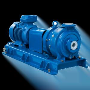 CP magnetdriven PFA-linad centrifugalpump typ MKPL