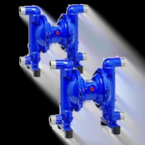 Depa pneumatisk membranpump, dubbelverkande serie DZ